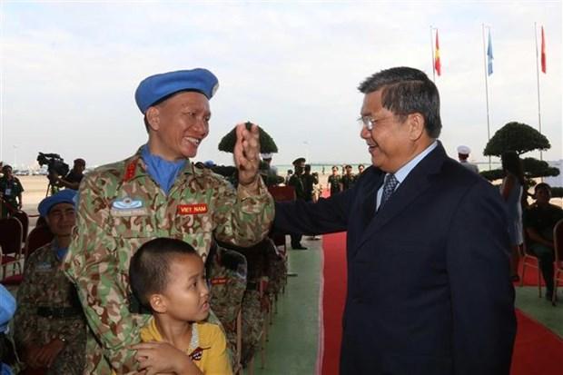 [Foto] Vietnam reitera compromiso de contribuir a la paz mundial hinh anh 7