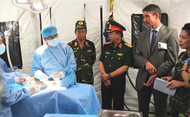 [Foto] Vietnam reitera compromiso de contribuir a la paz mundial hinh anh 3