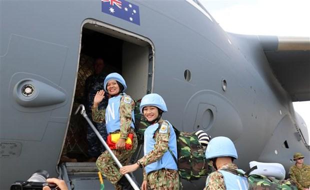 [Foto] Vietnam reitera compromiso de contribuir a la paz mundial hinh anh 4