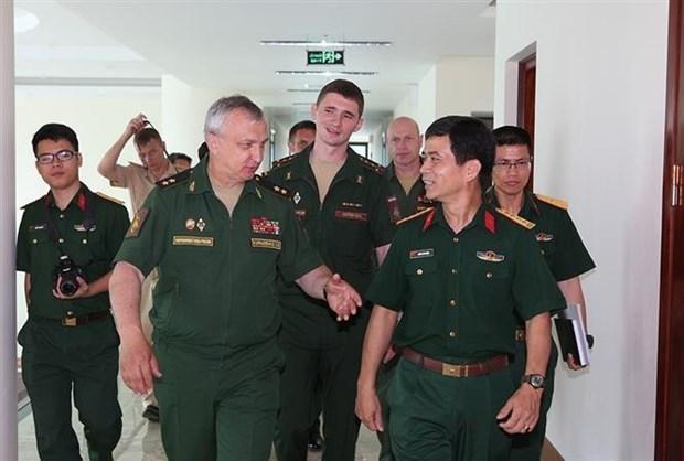 [Foto] Vietnam reitera compromiso de contribuir a la paz mundial hinh anh 2
