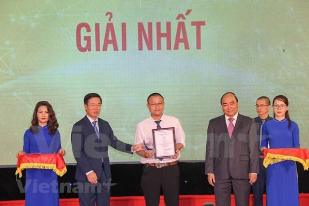 [Foto] Entregan en Vietnam los premios de informacion al exterior hinh anh 7