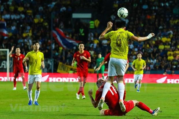 [Foto] Vietnam vence 1-0 a Tailandia en la Copa del Rey hinh anh 6