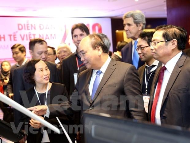 Destacan en Vietnam necesidad de mantener el ritmo de crecimiento hinh anh 1