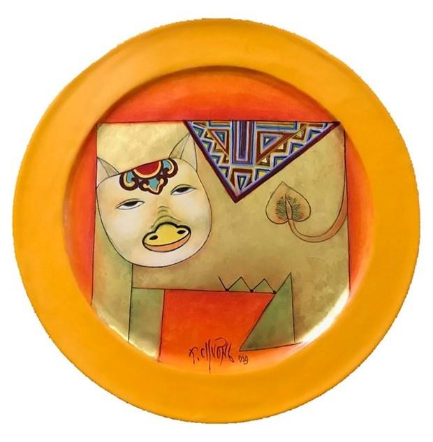 Renace el zodiaco vietnamita a traves de la pintura hinh anh 4