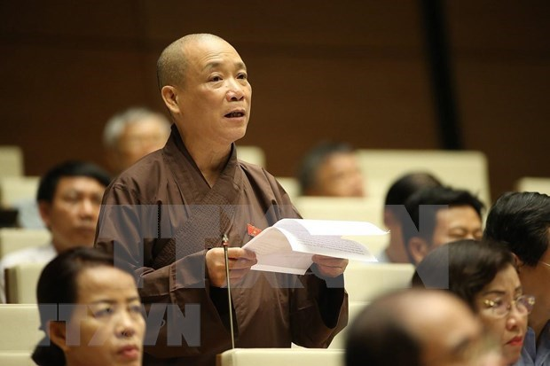 Gestion de centros de culto y religion centra debates del parlamento vietnamita hinh anh 2