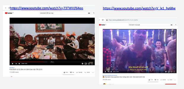 Detectan severas violaciones de YouTube en Vietnam hinh anh 3