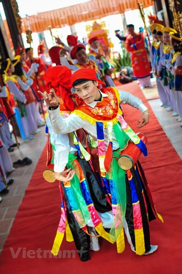 Hanoi dispone de otros dos patrimonios culturales nacionales intangibles hinh anh 5