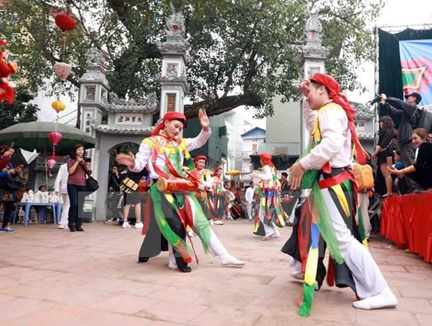 Hanoi dispone de otros dos patrimonios culturales nacionales intangibles hinh anh 2