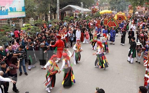 Hanoi dispone de otros dos patrimonios culturales nacionales intangibles hinh anh 3