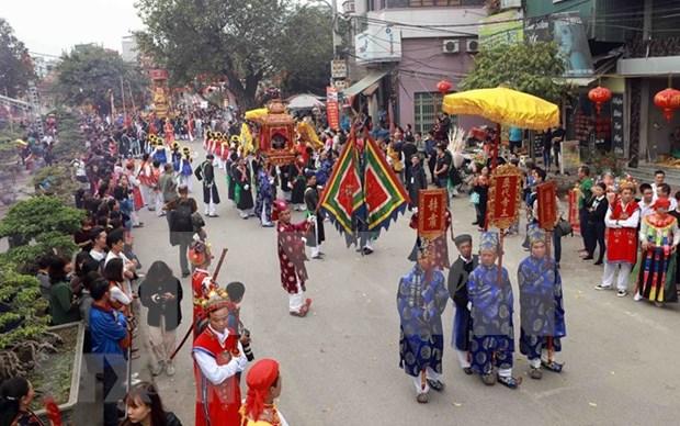 Hanoi dispone de otros dos patrimonios culturales nacionales intangibles hinh anh 4