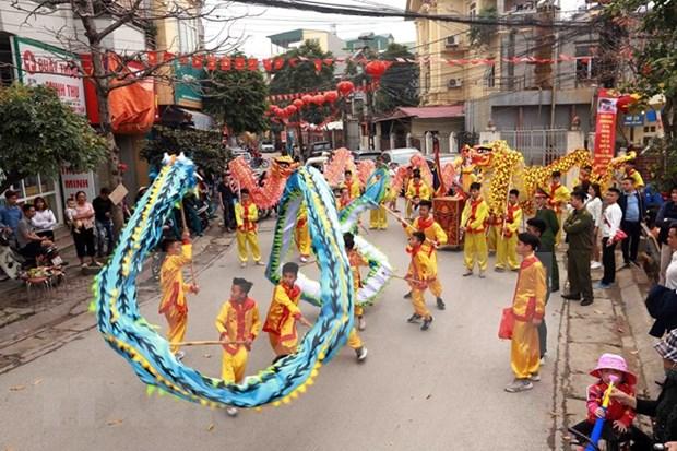 Hanoi dispone de otros dos patrimonios culturales nacionales intangibles hinh anh 7
