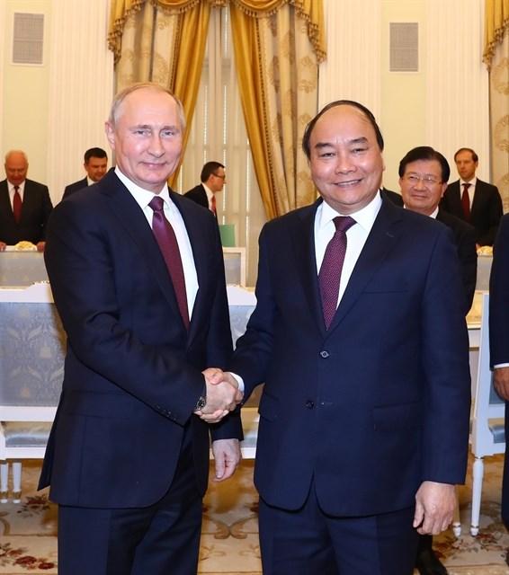 Firman Vietnam y Rusia acta de cooperacion en turismo hinh anh 1