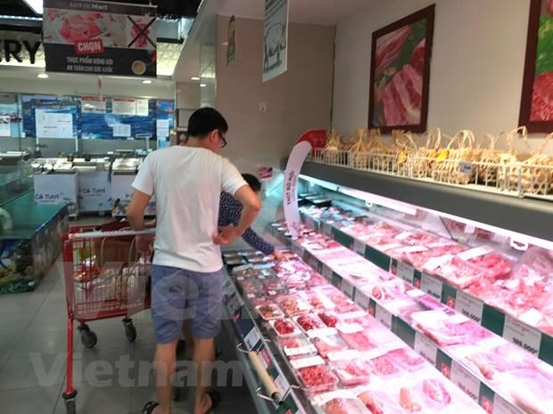 Vietnam adopta medidas para garantizar suministro de carne de cerdo ante avance de la PPA hinh anh 1