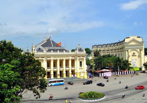 Hanoi, capital de amor y esperanza hinh anh 2