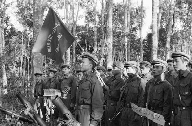 El aniversario 70 del Dia tradicional de soldados y expertos voluntarios vietnamitas en Laos hinh anh 10