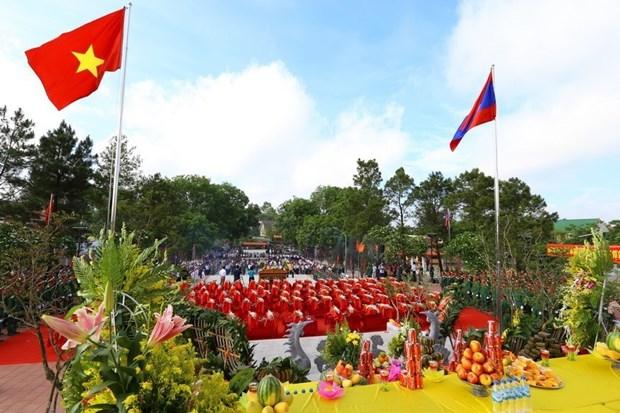 El aniversario 70 del Dia tradicional de soldados y expertos voluntarios vietnamitas en Laos hinh anh 9