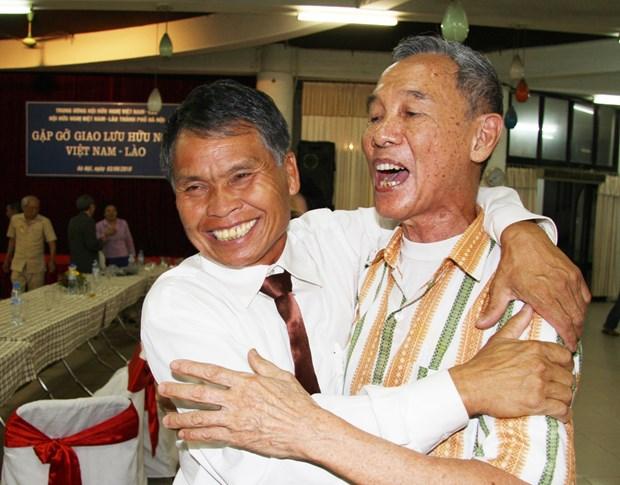 El aniversario 70 del Dia tradicional de soldados y expertos voluntarios vietnamitas en Laos hinh anh 6