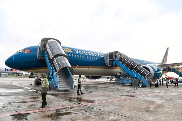 Conquistara el cielo nuevo avion Boeing 787-10 de Vietnam Airlines hinh anh 2
