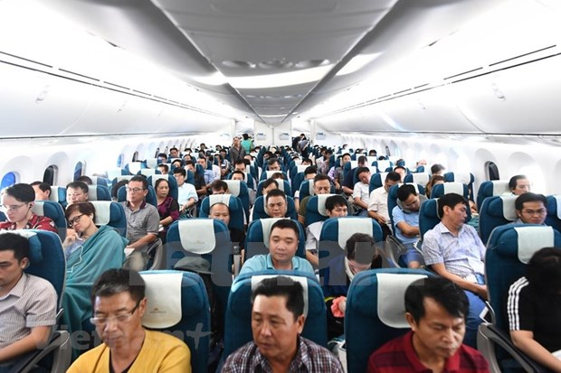 Conquistara el cielo nuevo avion Boeing 787-10 de Vietnam Airlines hinh anh 1