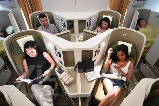 Conquistara el cielo nuevo avion Boeing 787-10 de Vietnam Airlines hinh anh 3