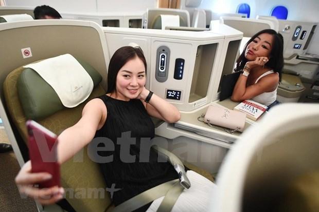 Conquistara el cielo nuevo avion Boeing 787-10 de Vietnam Airlines hinh anh 4