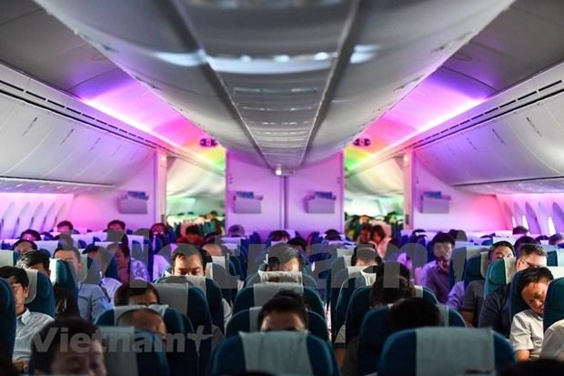 Conquistara el cielo nuevo avion Boeing 787-10 de Vietnam Airlines hinh anh 5