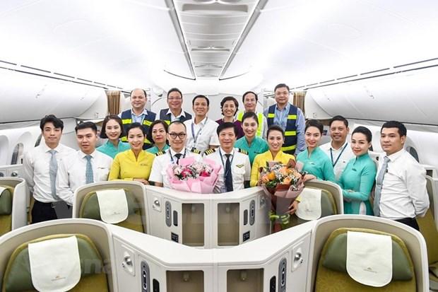 Conquistara el cielo nuevo avion Boeing 787-10 de Vietnam Airlines hinh anh 9