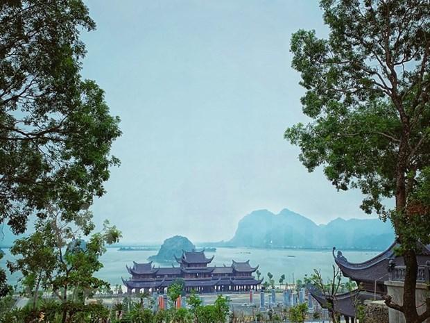 """Regreso a la pagoda de Tam Chuc - """"Corazon"""" del Dia de Vesak 2019 hinh anh 1"""