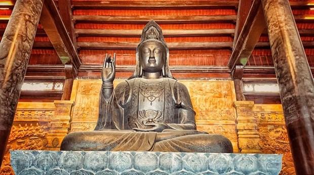 """Regreso a la pagoda de Tam Chuc - """"Corazon"""" del Dia de Vesak 2019 hinh anh 4"""