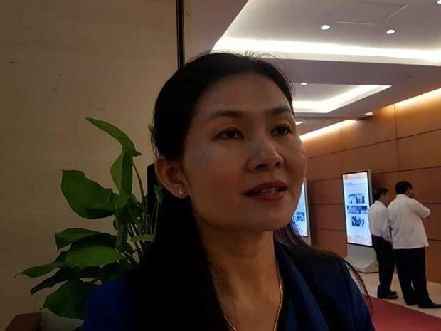 Diputados vietnamita destacan la calidad de las sesiones de interpelacion a ministros del gobierno hinh anh 1