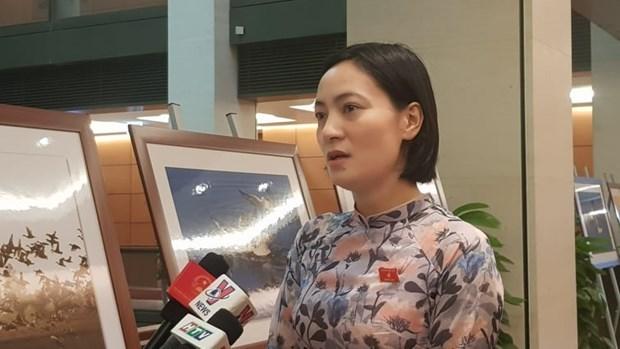 Diputados vietnamita destacan la calidad de las sesiones de interpelacion a ministros del gobierno hinh anh 2