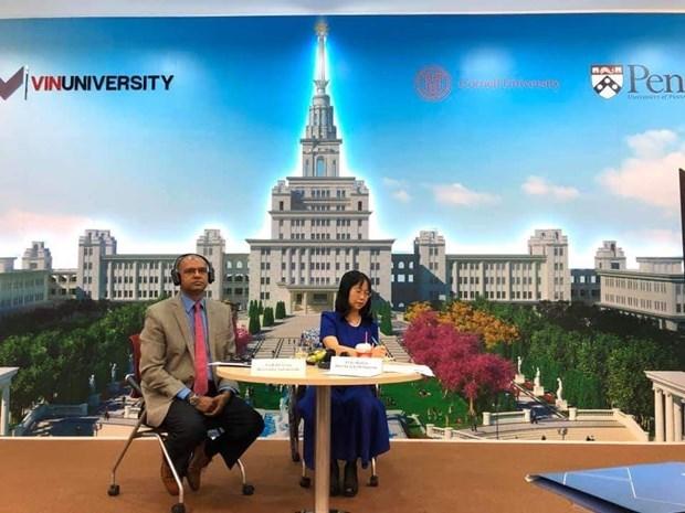 VinUni y su ambicioso objetivo de construir un modelo educacional sin precedente en Vietnam hinh anh 2
