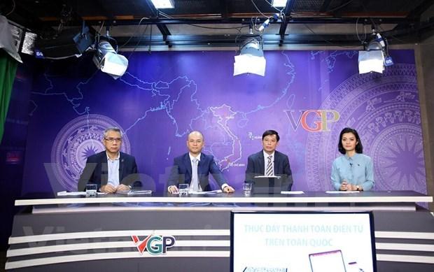 Destacan en Vietnam beneficios del pago electronico hinh anh 1