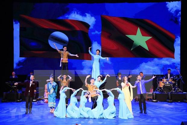 [Fotos] Semana Cultural de Vietnam en Laos hinh anh 1