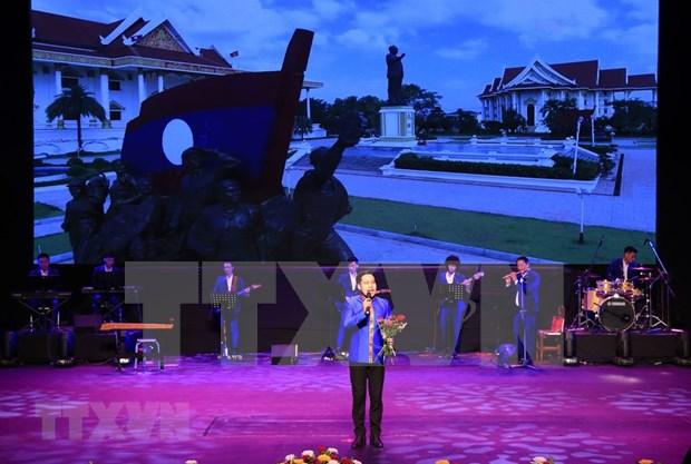 [Fotos] Semana Cultural de Vietnam en Laos hinh anh 2