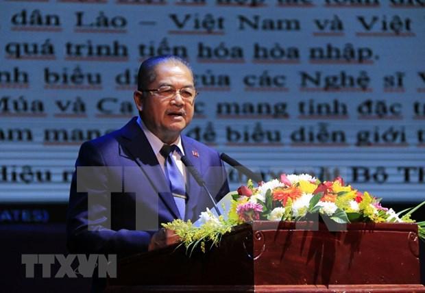 [Fotos] Semana Cultural de Vietnam en Laos hinh anh 7