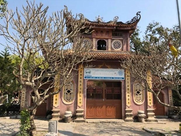 [Video] Atractivo el Museo de piedra en la pagoda Dong Ngo hinh anh 1