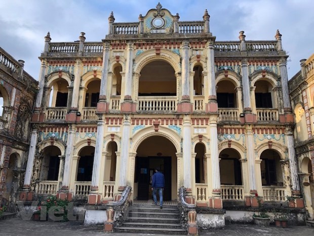 Exploran la antigua mansion Hoang A Tuong en la meseta blanca de Bac Ha hinh anh 5