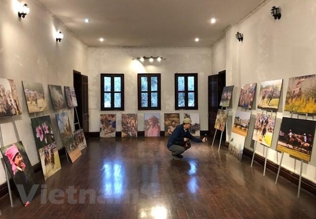 Exploran la antigua mansion Hoang A Tuong en la meseta blanca de Bac Ha hinh anh 6