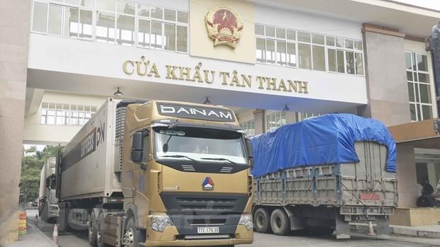 Exportaciones vietnamitas caen 15 por ciento en enero a causa del COVID-19 hinh anh 1