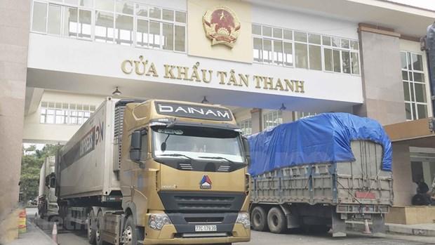 Exportaciones de empresas vietnamitas y con inversion extranjera disminuyen en enero hinh anh 1