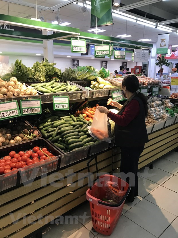 Garantizan suministro de bienes esenciales en Vietnam ante posibles escenarios del COVID-19  hinh anh 1
