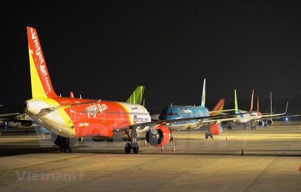 COVID-19: Etapa mas dificil en la historia de industria aerea de Vietnam hinh anh 1