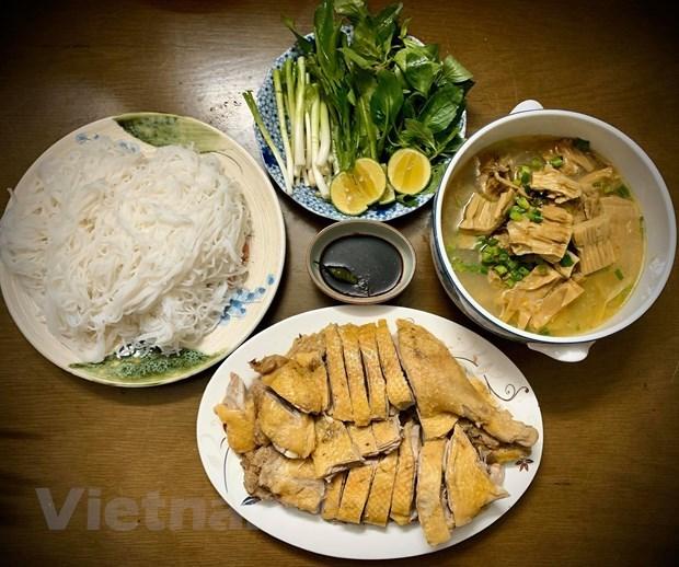 [Foto] Cambian sabores con plato delicioso de Bun Ngan los fines de semana hinh anh 3