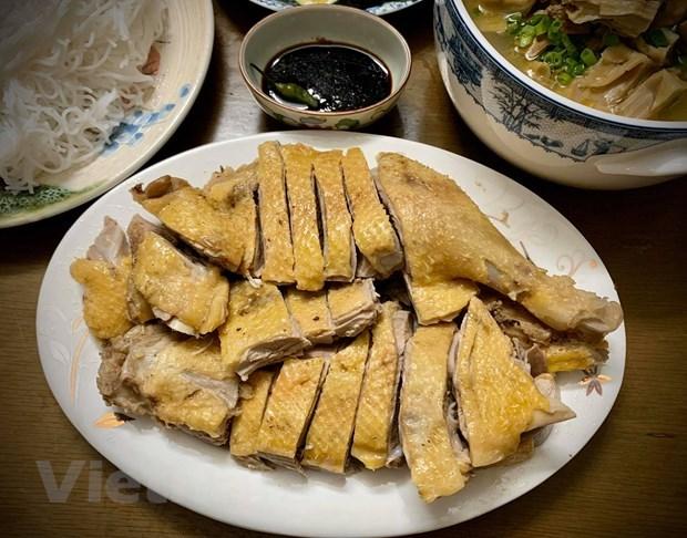 [Foto] Cambian sabores con plato delicioso de Bun Ngan los fines de semana hinh anh 4
