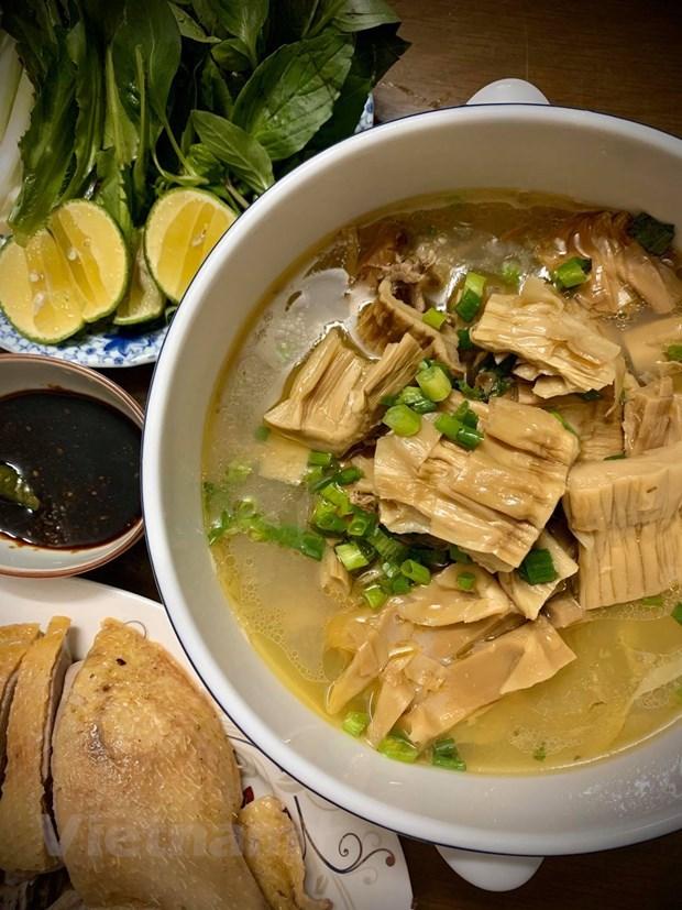 [Foto] Cambian sabores con plato delicioso de Bun Ngan los fines de semana hinh anh 5