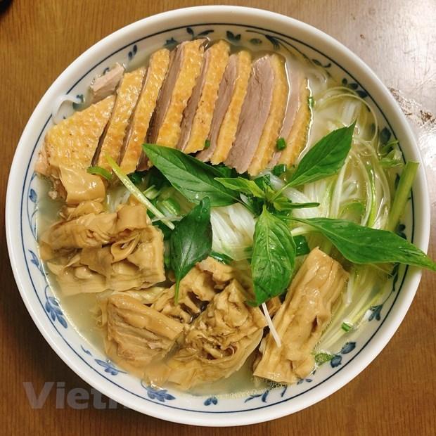 [Foto] Cambian sabores con plato delicioso de Bun Ngan los fines de semana hinh anh 6