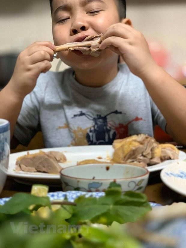 [Foto] Cambian sabores con plato delicioso de Bun Ngan los fines de semana hinh anh 7