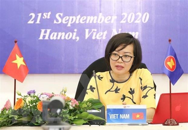 ASEAN busca promover bienestar social y desarrollo hinh anh 1