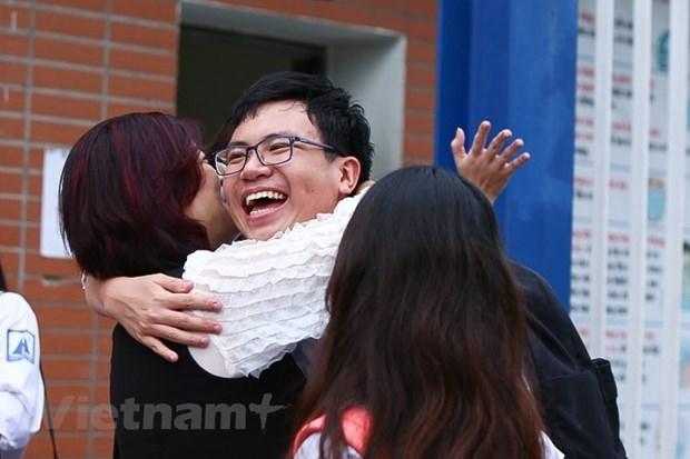 Examen de bachillerato en Vietnam cumple metas duales hinh anh 3